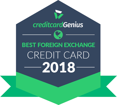 Best Foreign Exchange Credit Card for 2018 award seal